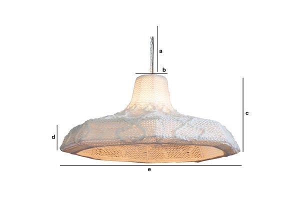 Productafmetingen Lana hanglamp