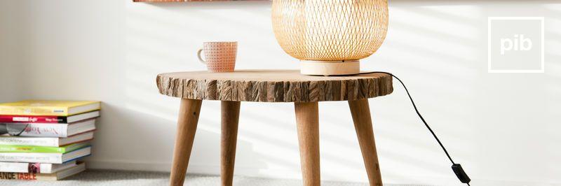 Landelijke salontafels in Shabby chic stijl