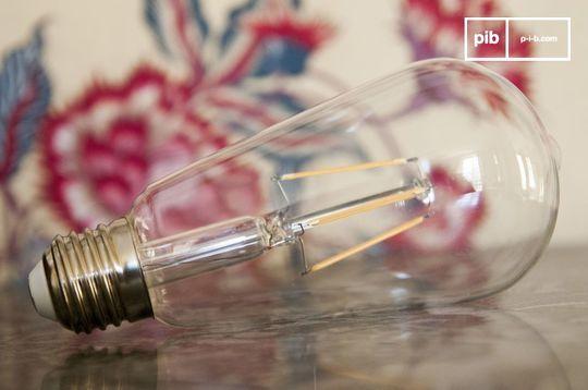 Lange LED lamp (met) vintage gloeidraad
