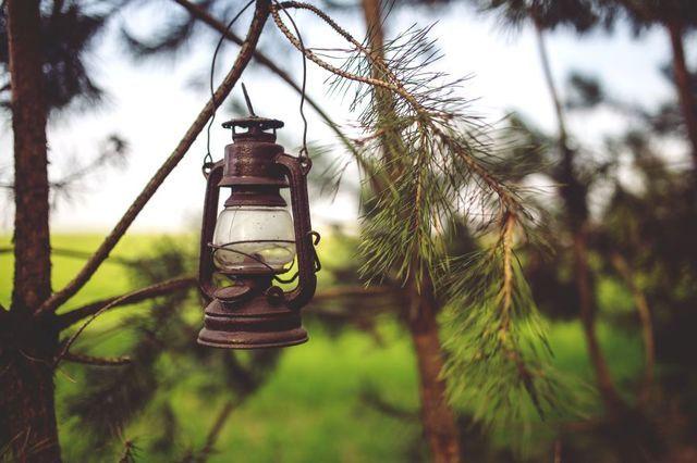 Lantern for the garden