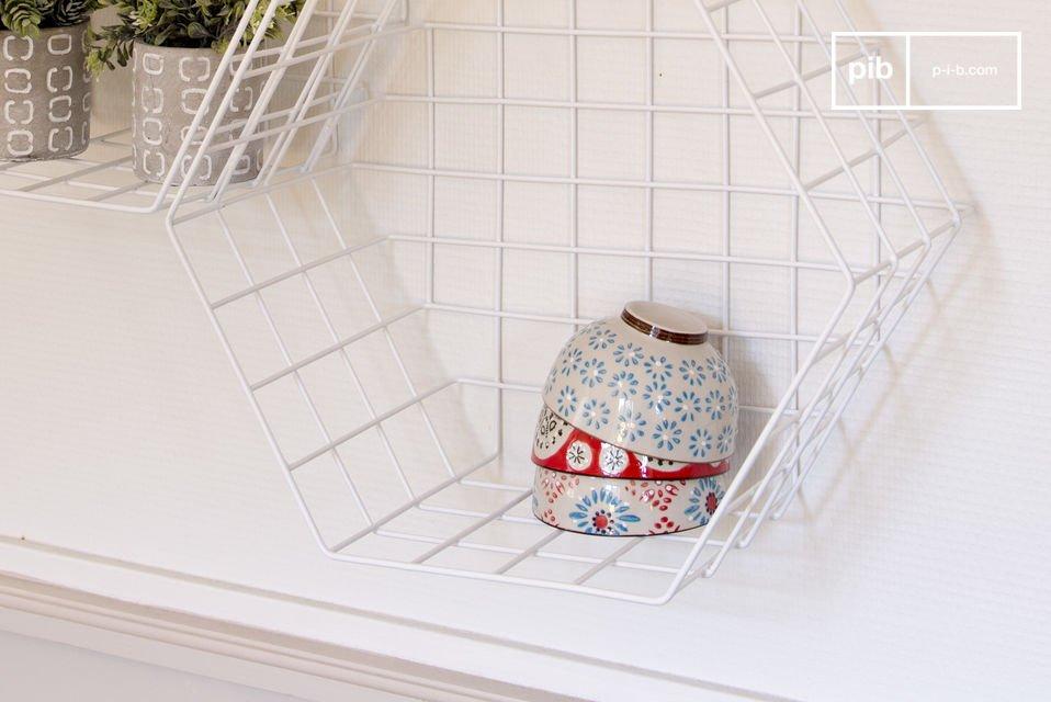 Ideaal om prachtige voorwerpen te laten zien in een woonkamer, badkamer of keuken