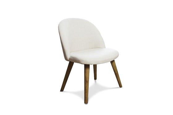 Lear ecru stoel Productfoto