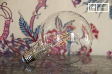 Led lamp 13cm met vintage gloeidraad
