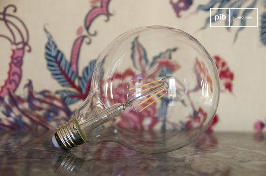 Led lamp 13cm oude gloeidraad