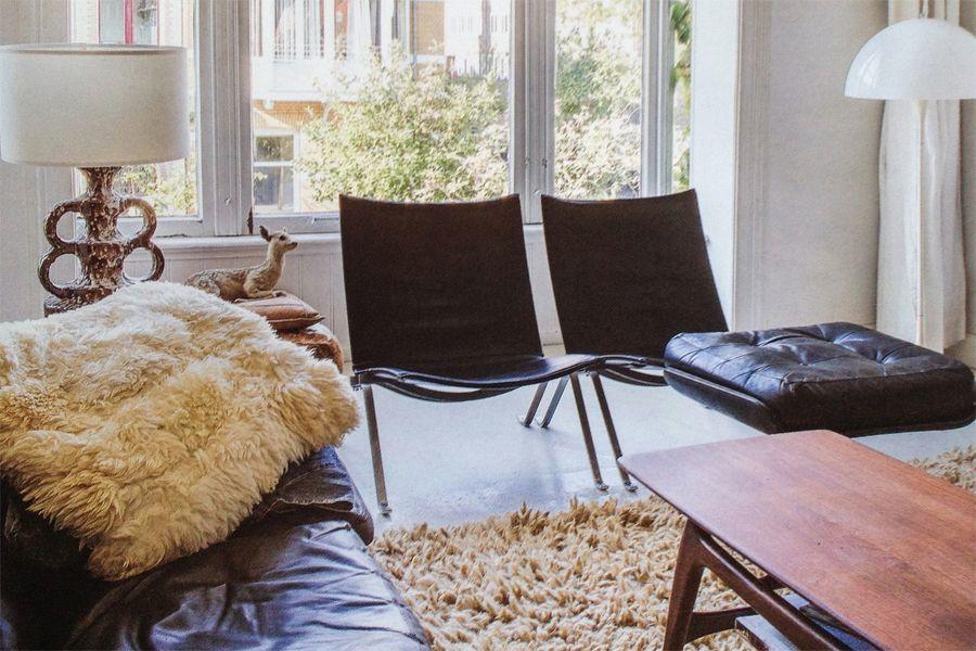 Lederen stoelen interieur