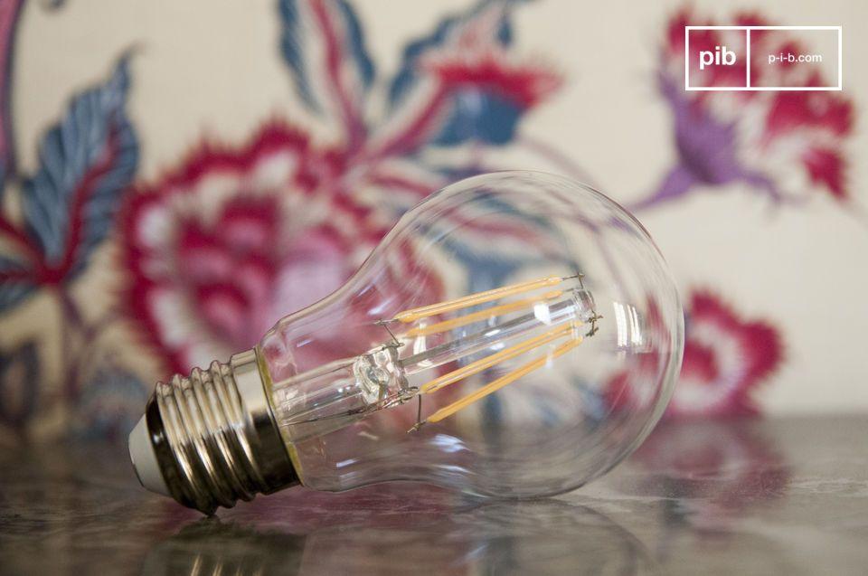 Ledlamp 6cm met vintage gloeidraad