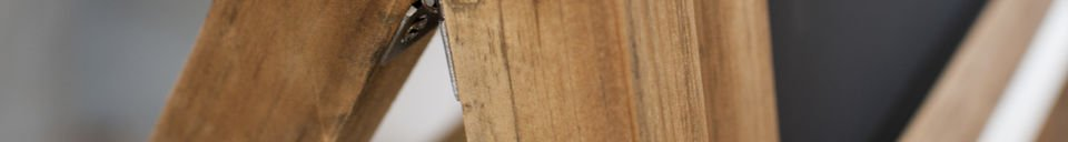 Benadrukte materialen Leon houten krijtbord