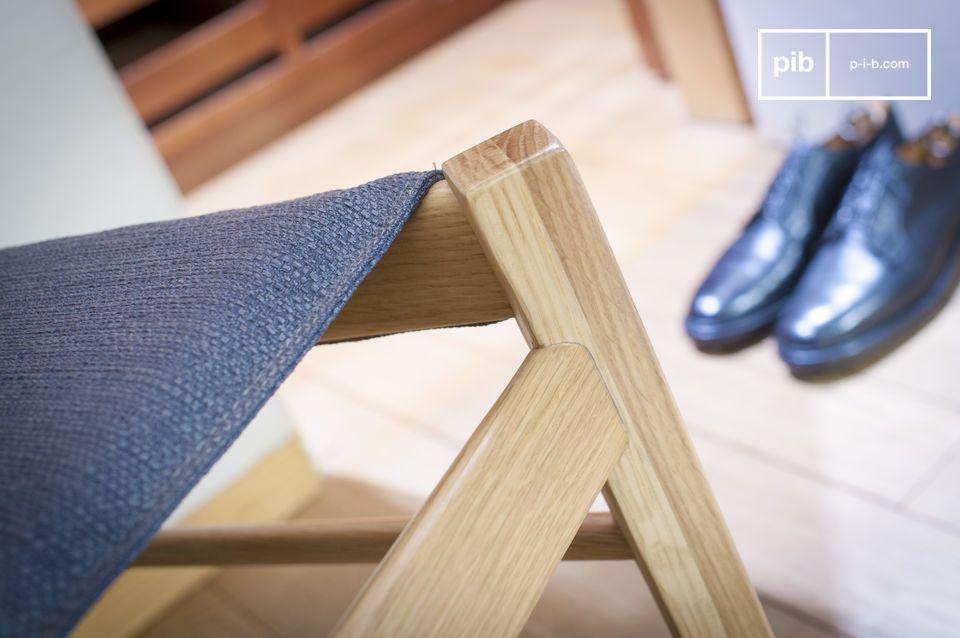 Zitcomfort en licht hout voor een stoel met een Noorse touch