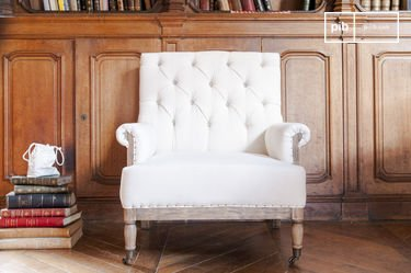 Linnen Edmond fauteuil