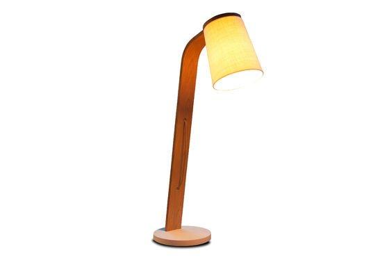 Lodge houten vloerlamp Productfoto