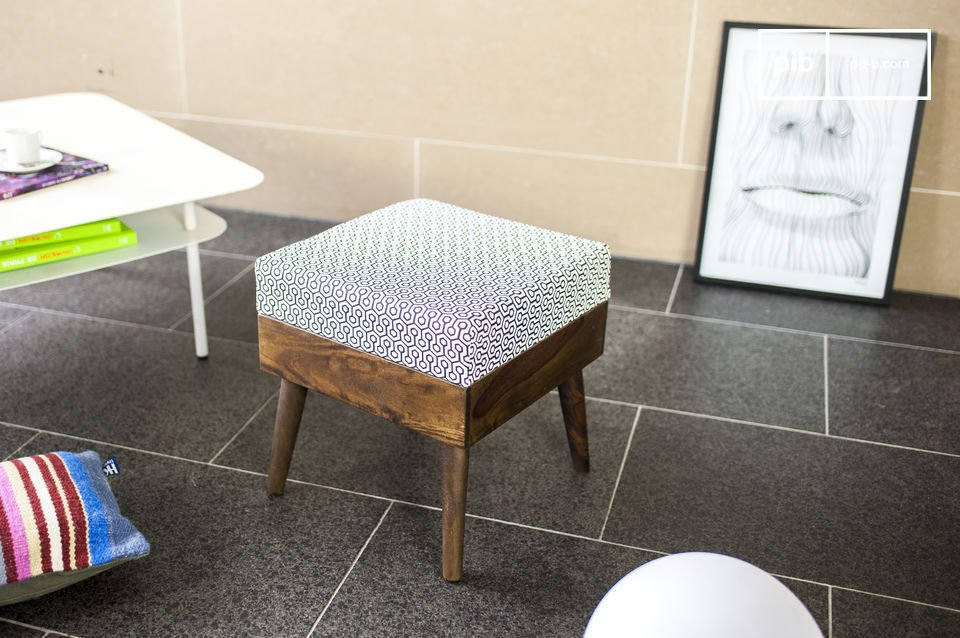 Extra zitplaatsen of een voetsteun in vintage stijl