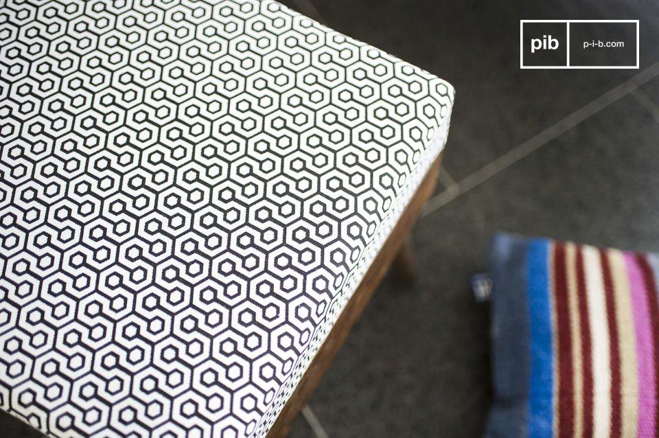 Kies voor deze Londress poef en voeg een vleugje vintage Scandinavisch design toe aan je woonkamer