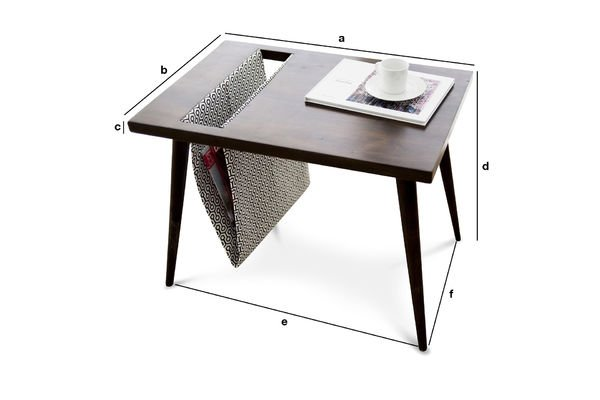 Productafmetingen Londress tafel
