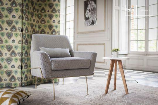 Lounge armstoel Hilda