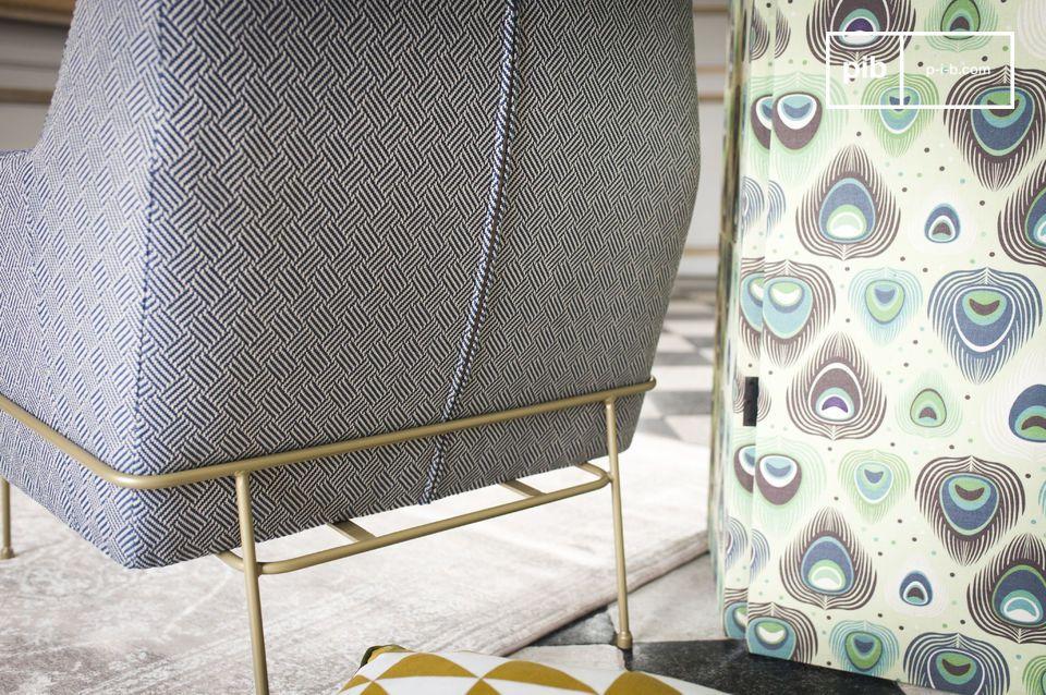 Ideaal voor een lounge of \'sixties\' sfeer