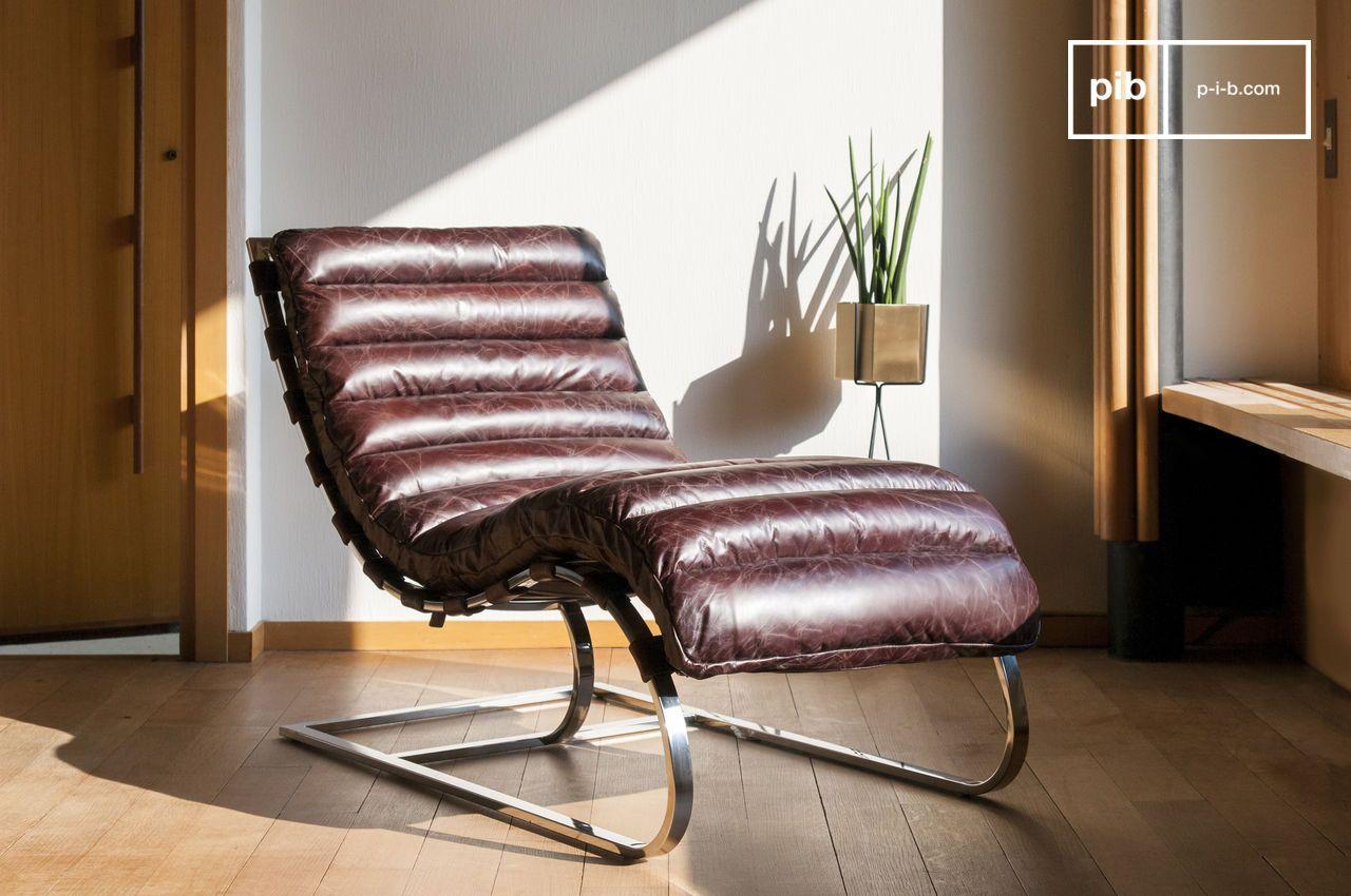 Leren Lounge Fauteuil.Lounge Stoel Weimar