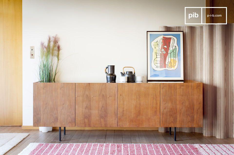 Lovisa marmer en houten dressoir