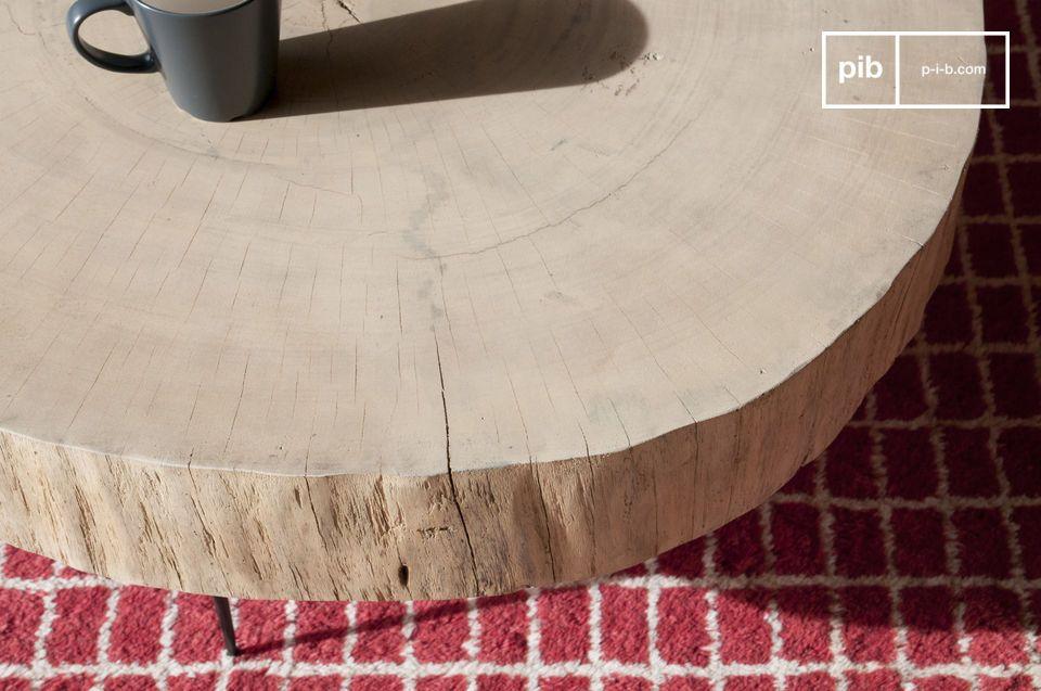 Een organische en unieke salontafel