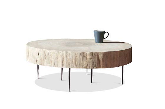 Luka natuurlijke boomstam salontafel Productfoto