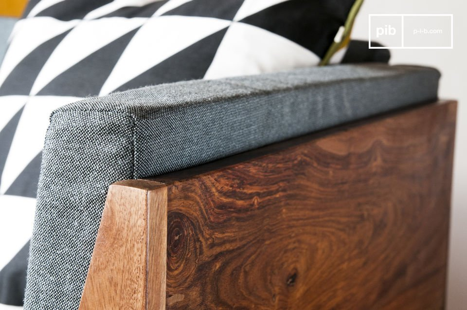 De Mabillon fauteuil brengt een Scandinavische vintage touch aan de decoratie van je woonkamer of