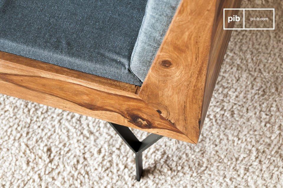 Een compacte en stijlvolle fauteuil