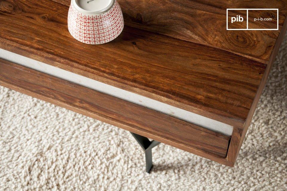 Deze salontafel zal een prominente rol spelen in de decoratie van je woonkamer