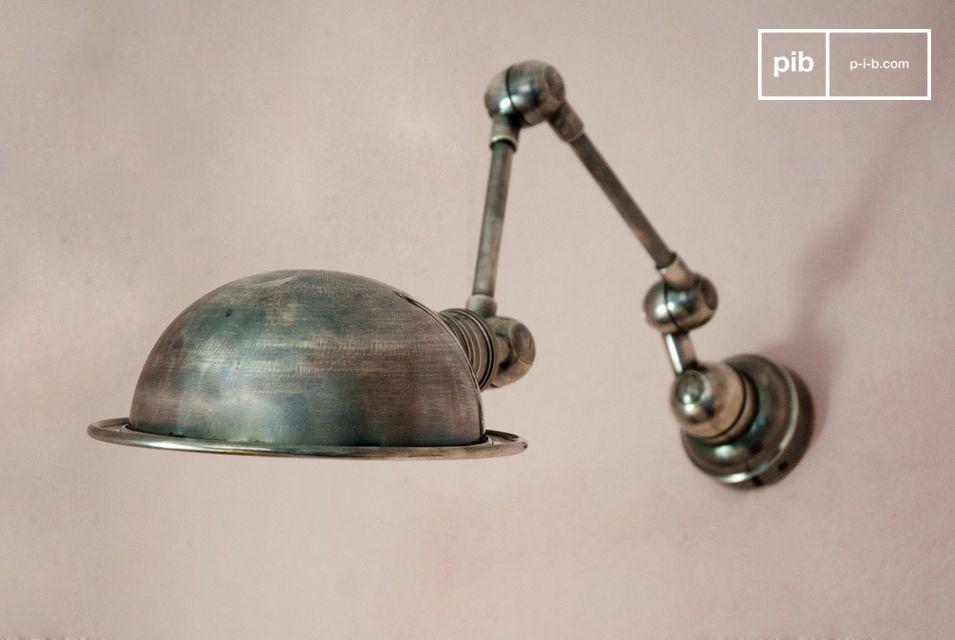 Twee scharnier armen, typisch industriële stijl