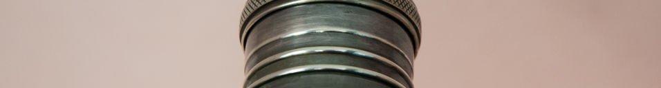 Benadrukte materialen Machine-tool wandlamp