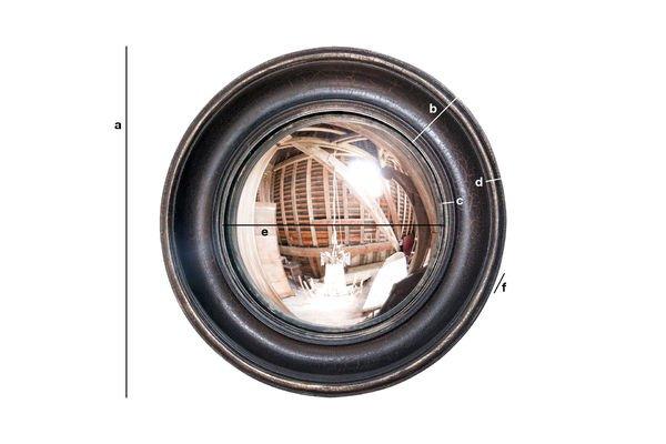 Productafmetingen Magellan spiegel