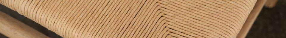 Benadrukte materialen Mänttä stoel