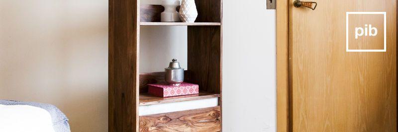 Massief houten boekenkasten