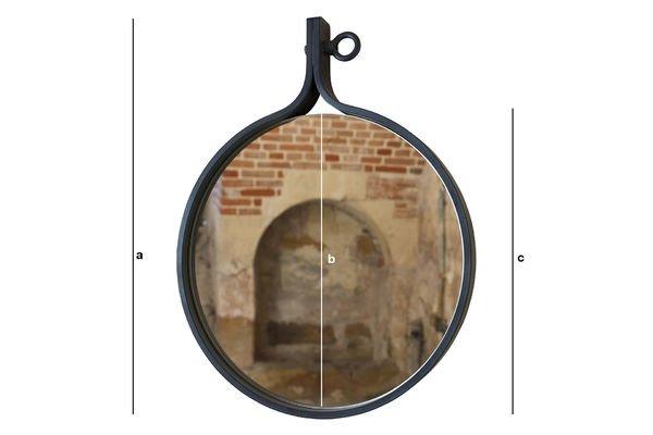 Productafmetingen Matka spiegel