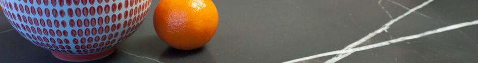 Benadrukte materialen Maybury groen marmeren salontafel