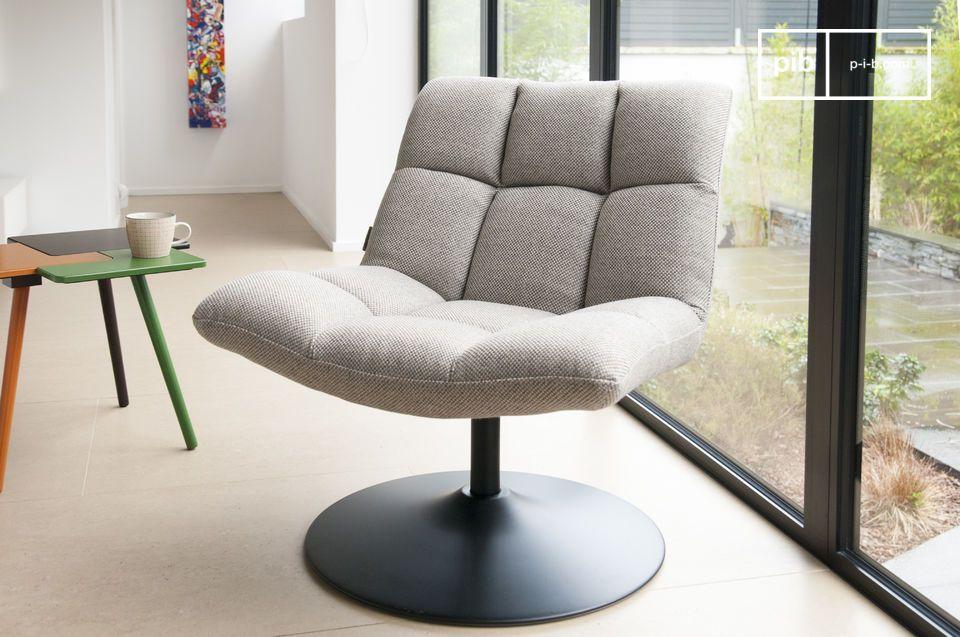 Mesh lounge stoel