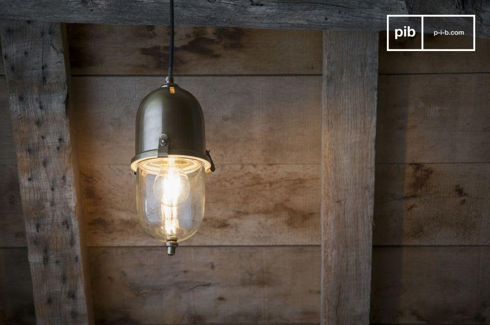Messing hanglamp Kapsula