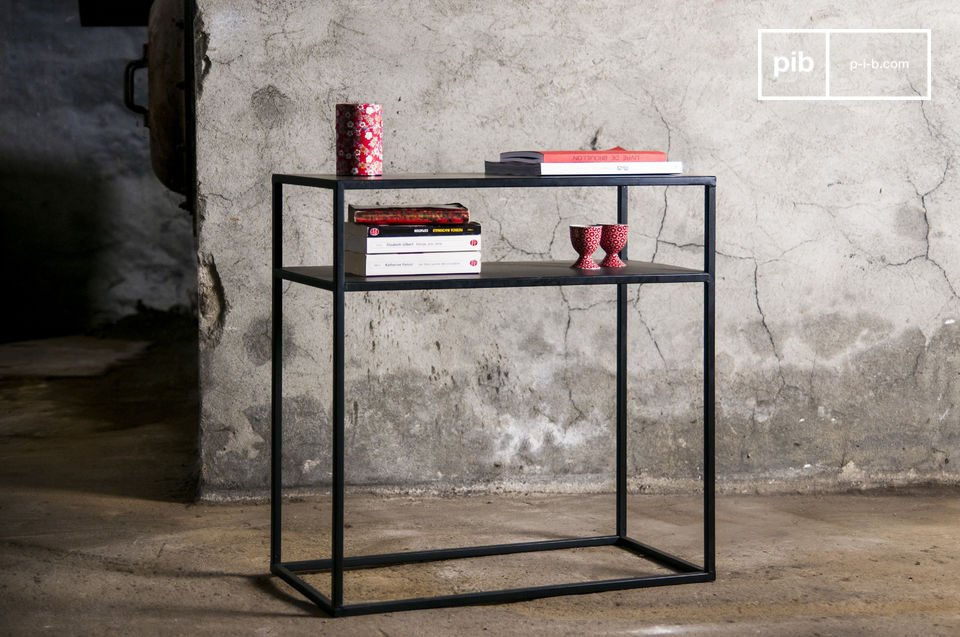 Metalen Myriam sidetable
