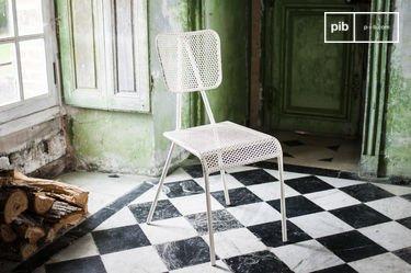 Métalo witte stoel