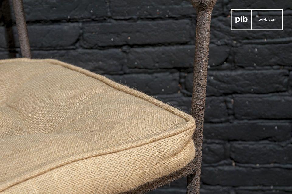 Getextureerde afwerking en comfortabele stoel