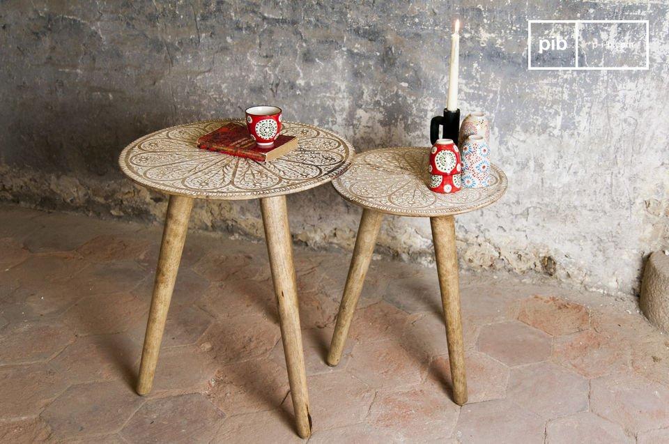 De magische Minelle tafels met bohemian charme voegen een bohemian touch toe aan je romantische
