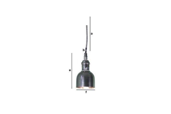 Productafmetingen Mini bell hanglamp