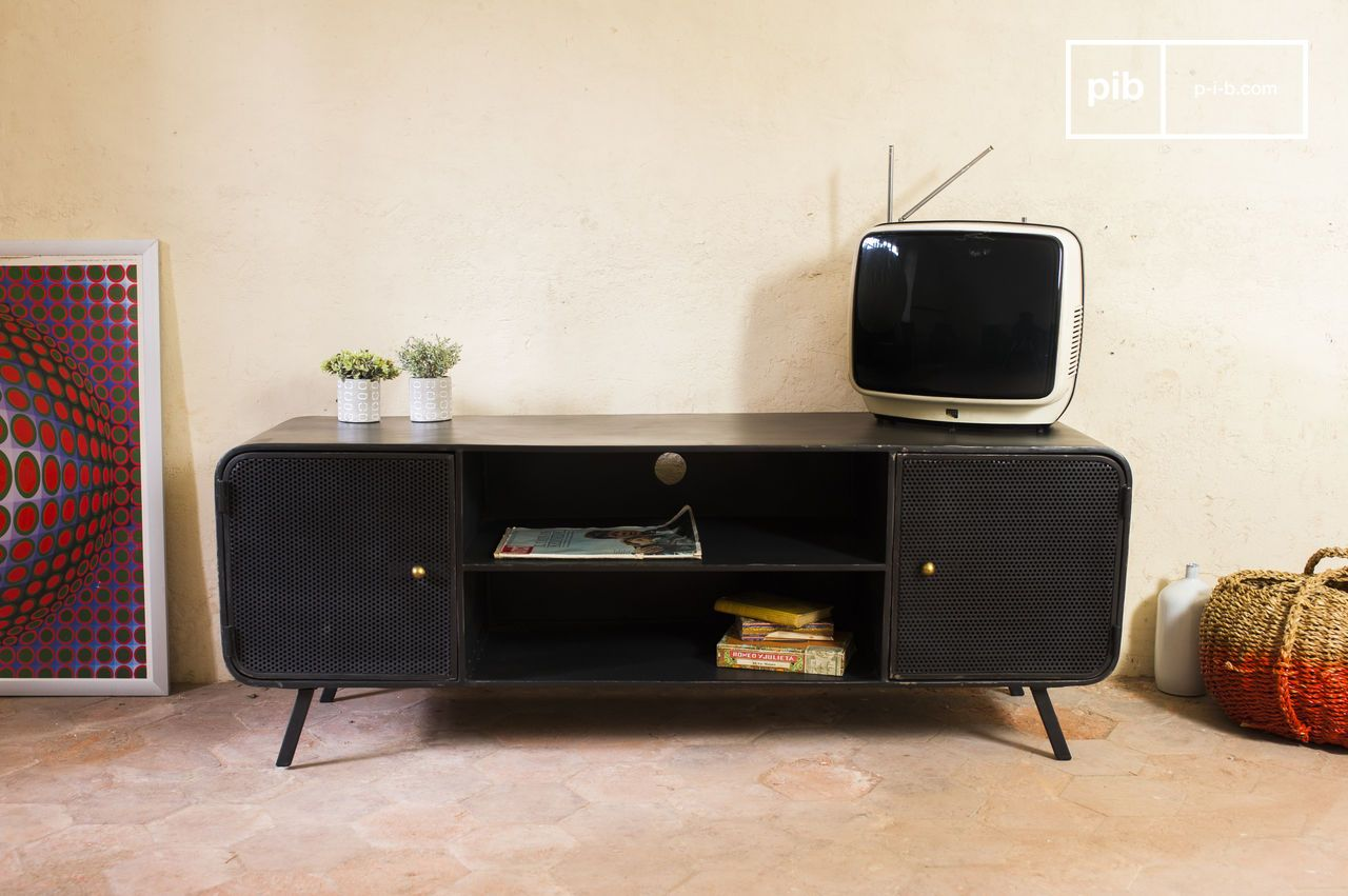 Nette Tv Kast.Minnoterie Tv Meubel Metalen Design Nette Afwerking Pib