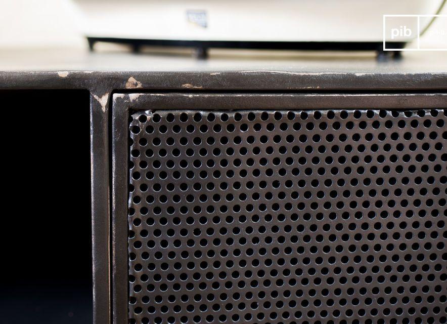 Een meubelstuk die twee stijlen combineert voor een succesvol resultaat: aan de ene kant een look
