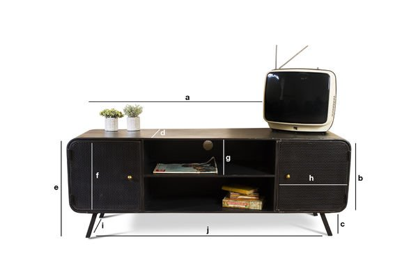 Productafmetingen Minnoterie Tv meubel