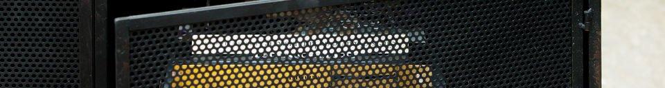 Benadrukte materialen Minoterie Tv meubel