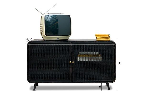 Productafmetingen Minoterie Tv meubel