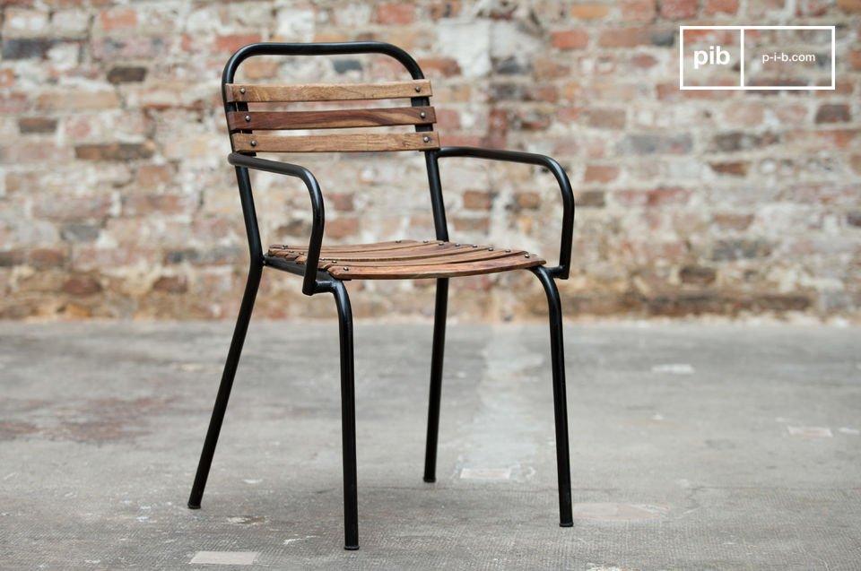 Mistral stoel met armleuning
