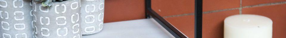 Benadrukte materialen Modulair marmeren plank Bridget