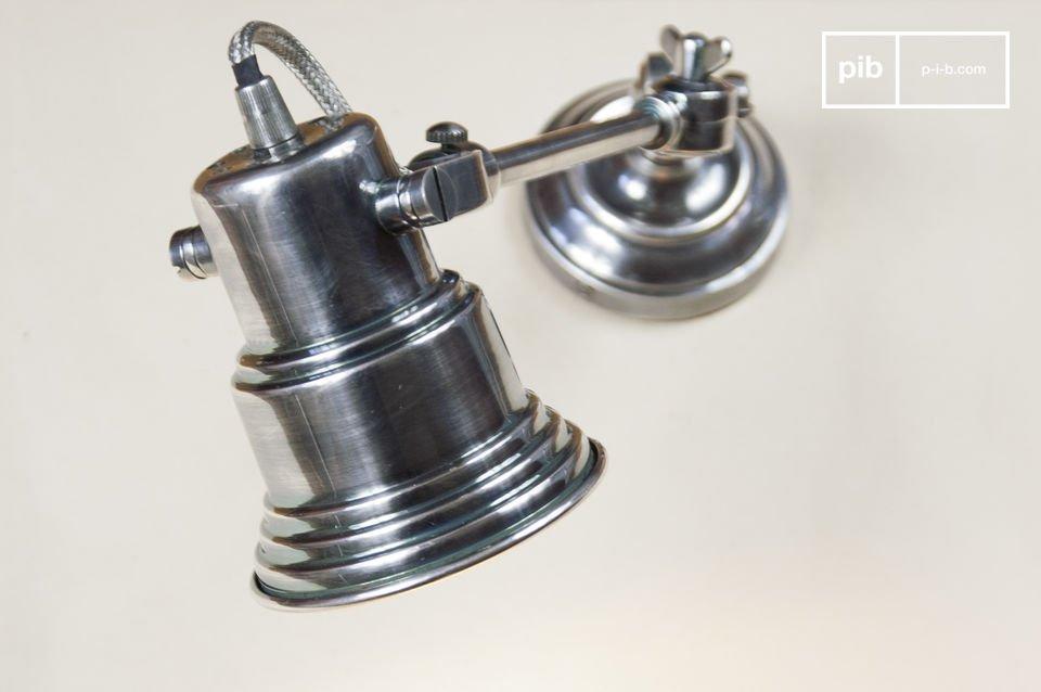 Deze lamp heeft zeker een vintage industriële stijl
