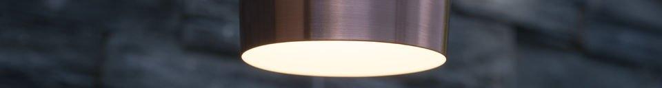Benadrukte materialen Mora S hanglamp