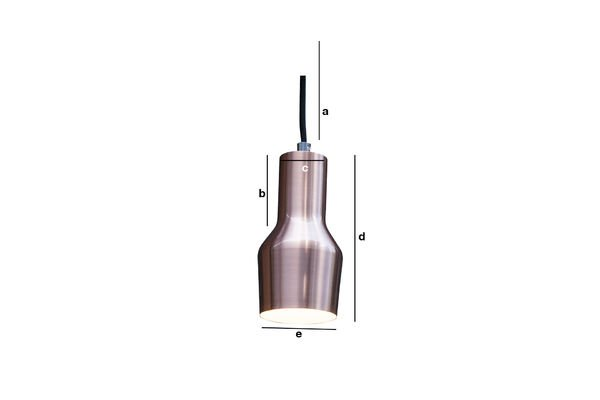 Productafmetingen Mora S hanglamp